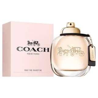 Coach New York EDP for Women (90ml/Tester/GiftSet/2ml Vial) Eau de Parfum