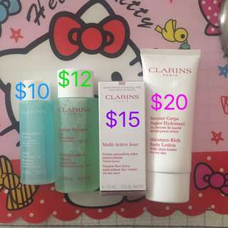 ✨free shipping!Clarins bundle