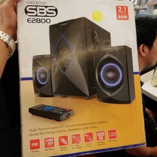 Creative SBS 50W audio Speakers