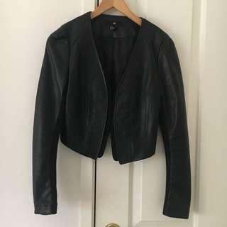 H&M Pu Leather Jacket