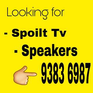 "Buying spoilt tv, 32"" to 70""  Plasma LCD Led Plasma Smart Tv. LG SAMSUNG PANASONIC ETC ( faulty LG tv etc)"