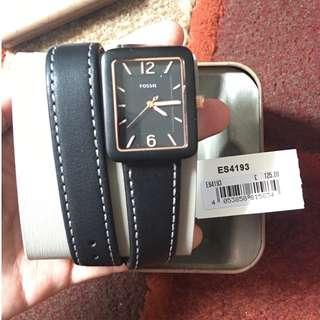 Fossil watch lilit black