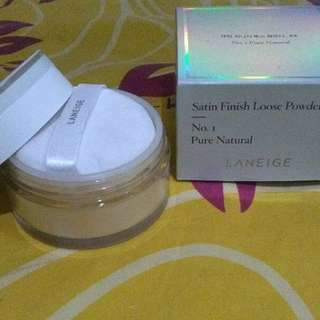 LANEIGE Satin Finish Loose Powder