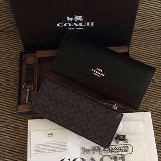 WAREHOUSE SALES! Authentic Coach Wallet Gift Set