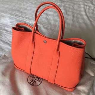 Hermes Garden Party top handle bag PRICE DROP