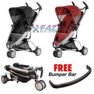 Quinny Zapp Xtra 2.0 2014 with FREE Bumper Bar