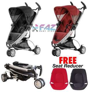Quinny Zapp Xtra 2.0 2014 with FREE Seat Refucer