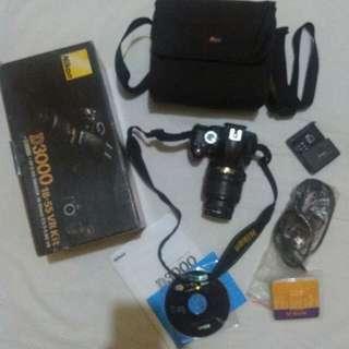 DSLR Nikon D3000 + Tas Lower Pro