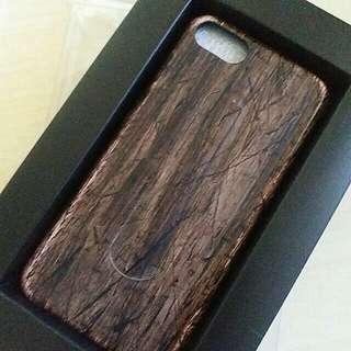 立體木紋面 iphone 6 case(包本地平郵)