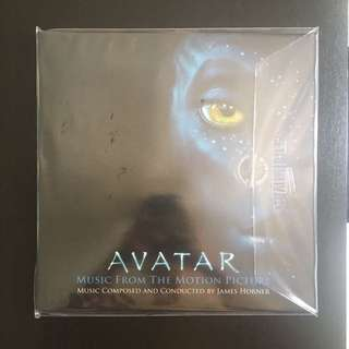 Limited edition Avatar : movie soundtrack vinyl