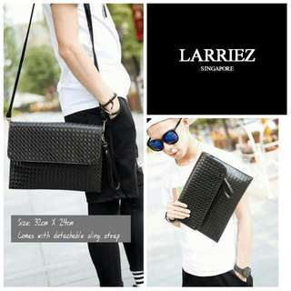 Men Sling Bag And Wallet