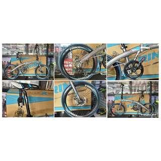 """Trinx Dolphin 2.0 Folding Bike Trinx Bike 20"""" Alloy (Mechanical)"""