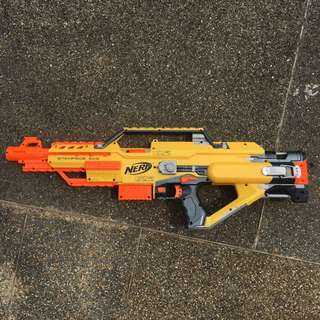 Modified Nerf Stampede (Xpede) Xplorer xpede kit installed