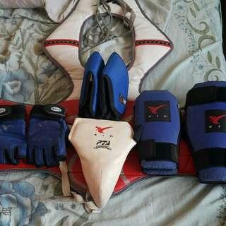 Full set taekwondo gear
