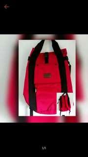 Jaxon bag red