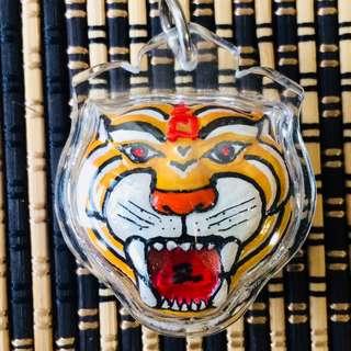 ($58) LP Somchai Tiger Biagae Bia Gae 挡降贝