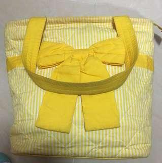 Naraya 正版蝴蝶袋 黃色 已絕版 斜孭袋  側肩袋