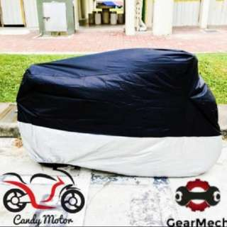 *New* Rain Cover/ Motorcycle Canvas Waterproof (Self Collection/ Postage)