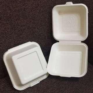 Biodegradable Burger Box @1000pcs