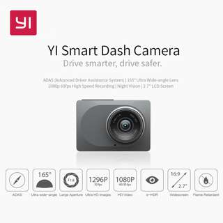 Smart dash camera / Car camera Yi technology