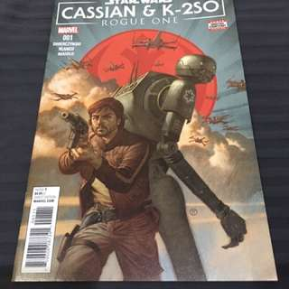 Star Wars: Cassian & K-2SO Rogue One #1
