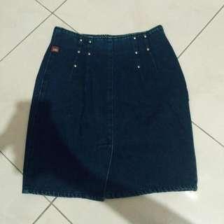 Vintage Jeans Skirt