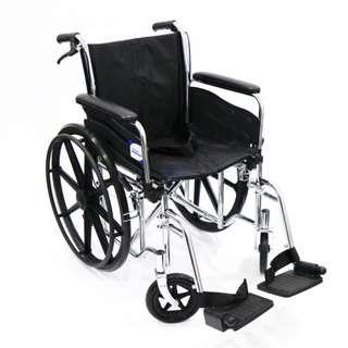 Wheelchair (ASSURE Rehab), Chrome, DAF, AR0118, Per Unit
