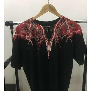 Marcelo Burlon Lightning T-shirt Original