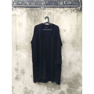 Zara 黑色針織罩衫