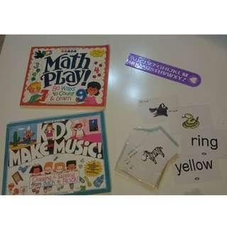 Educational bundle for toddlers/preschoolers