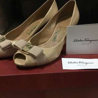 Salvatore Ferragamo Wedge Shoes (REPRICED)