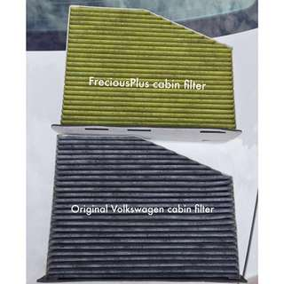 Frecious Plus Premium Cabin Air Filter for Volkswagen & Audi