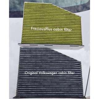 Frecious Plus Premium Cabin Air Filter for Volkswagen & Audi