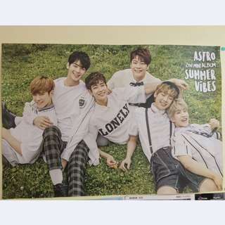 Astro Summer Vibes Album Official Poster