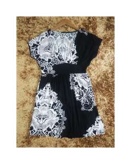 Babydoll V Neck Top and Dress