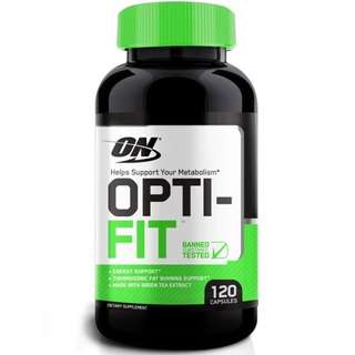 健身營養品*美國熱銷Optimum Nutrition Opti-Fit THERMOGENIC METABOLISM SUPPORT綠茶素(120裝)