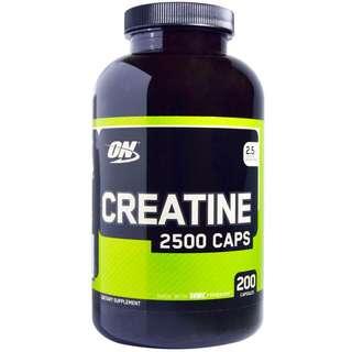 健身營養品*美國熱銷Optimum Nutrition Creatine 2500純肌酸(200裝)