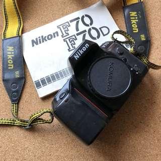 Nikon F70 Film Camera AF