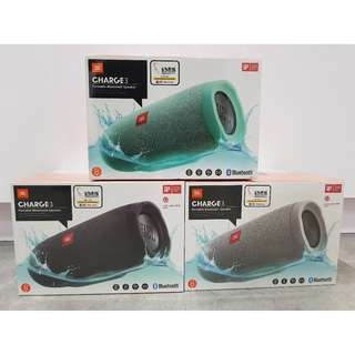 JBL CHARGE3 Speaker  with FREE with S300i Stereo Headset worth $169