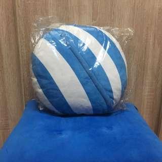🚚 藍白條紋小枕頭