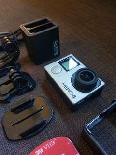 GoPro Hero 4 Silver Set B