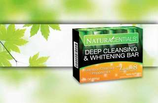 Deep Cleansing and Whitening Bar Naturacentials Whitening Soap