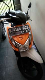 Honda beat 2014 plat B jakarta Barat