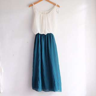 Chiffon Tosca Maxi Dress