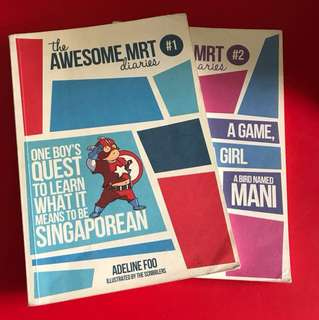 The Awesome MRT Diaries #1 & #2