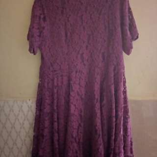 Dress Brokat