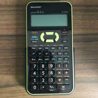 Sharp EL-533X Calculator