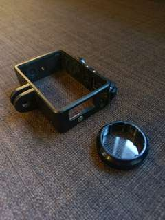 Quick release frame for GoPro Hero4