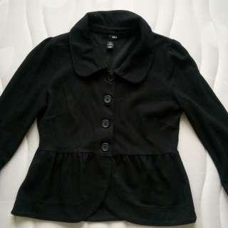 H&M black formal top