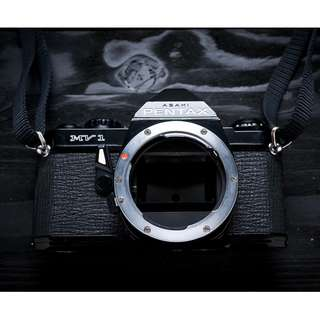 Pentax MV1 film camera body